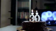 Young man birthday video