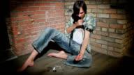 Young Man Drug Addiction video