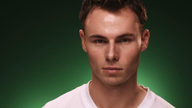 Young Man Portrait video
