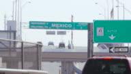 Young Man Walks Toward Border video