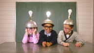 Young Nerds Think while Wearing Idea Helmets video
