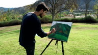 Young Painter in Action video