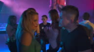 HD DOLLY: Young People Enjoys Dancing In The Club video