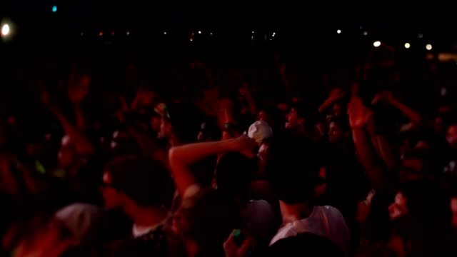 Young Rave Crowd video
