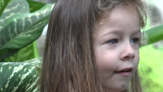 Young Toddler Girl Talking video