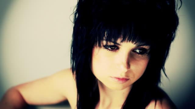 Young Woman Portrait video