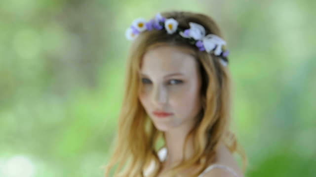 Young woman video