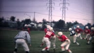 (8mm Vintage) Youth Football Action video