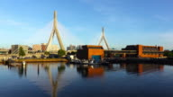 Zakim Bridge in Boston Massachusetts video