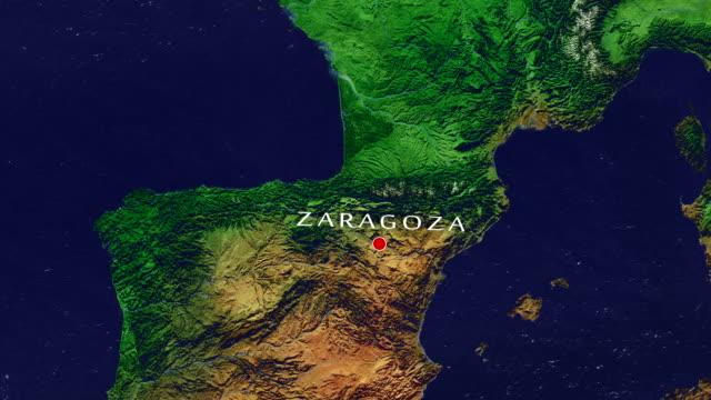 Zaragoza Zoom In video