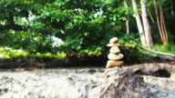 Zen Style Stones. video