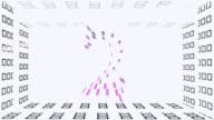 Zero to ten rainbow colored zooming number count or top ten video