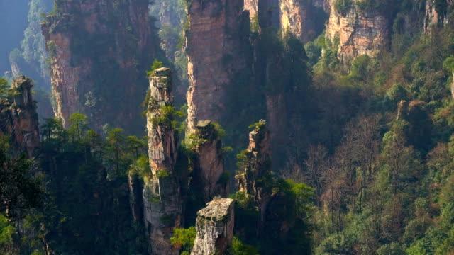 Zhangjiajie National Park, China video