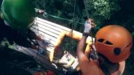 Zip line Adventure video