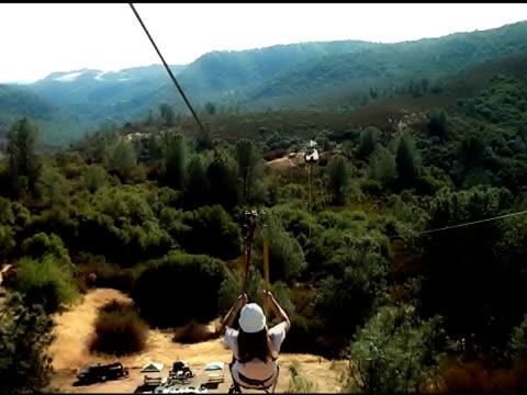 Zip Line Ride video