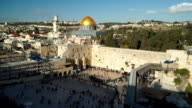 Zoom on Dome of the Rock video