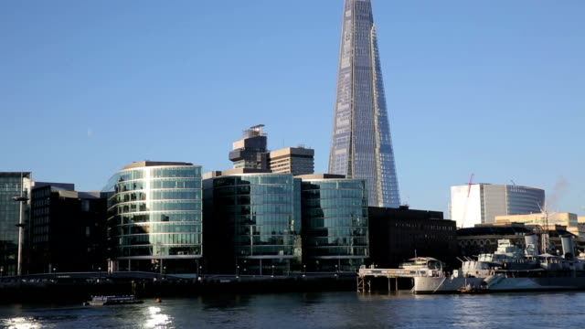 zoom out from the shard London video