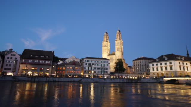 Zurich Switzerland Grossmünster video