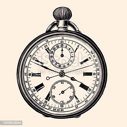 Chronograph watch 19th Century