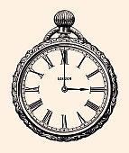 19th century women's pocket watch