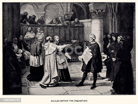 GALILEO BEFORE THE INQUISITION.