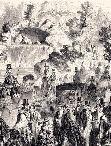 BOIS DE BOULOGNE:1857 (XXXL)