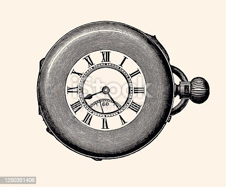 istock POCKET WATCH (XXXL) 1250351406