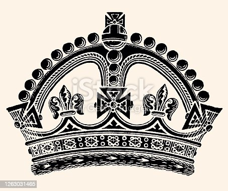 istock CROWN OF QUEEN VICTORIA (XXXL) 1263031465