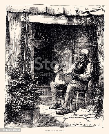 istock UNCLE TOM AT HOME (XXXL) 1266808664