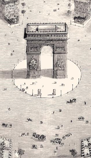 ARC DE TRIOMPHE -PARIS (XXXL with lots of details)