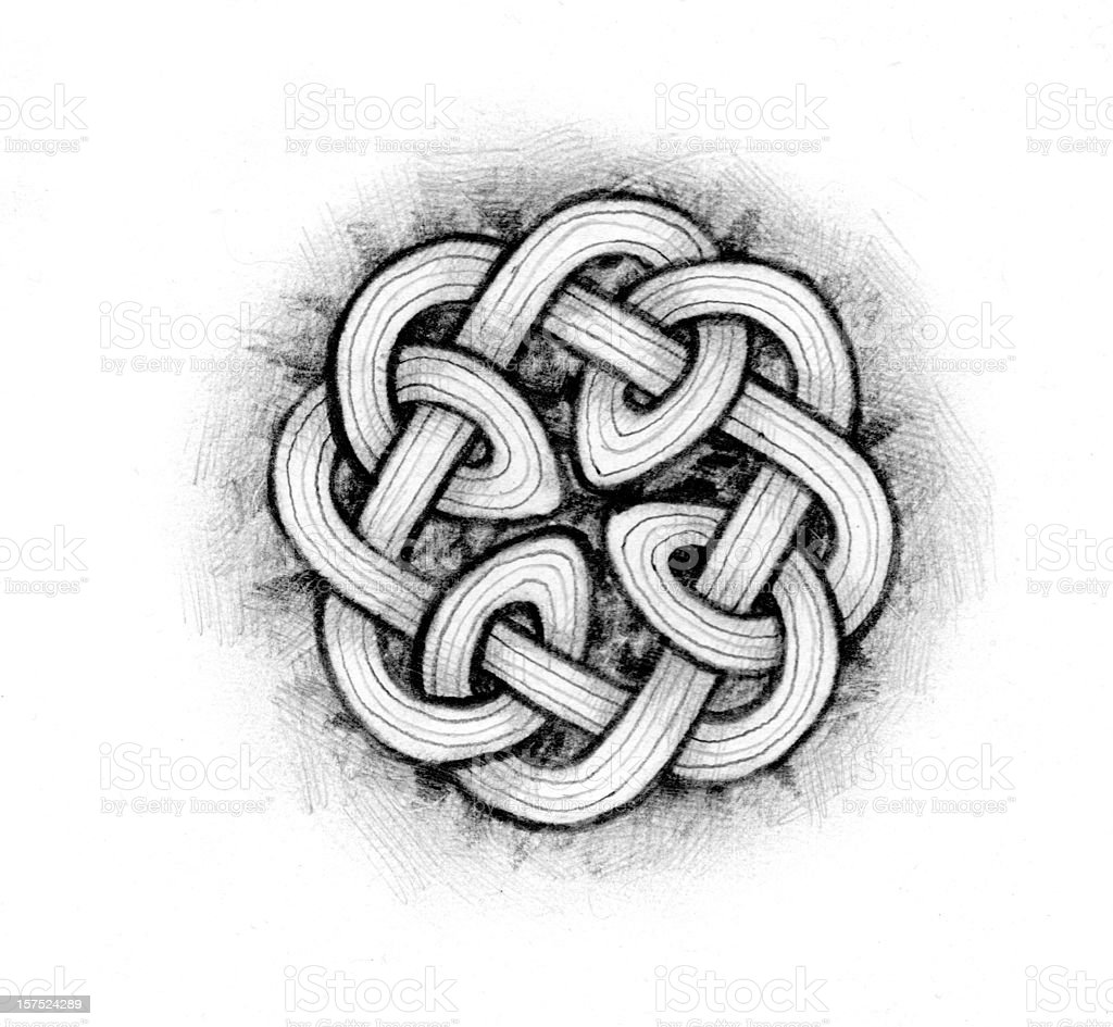 CELTIC KNOTWORK 1 royalty-free celtic knotwork 1 stock vector art & more images of celtic style