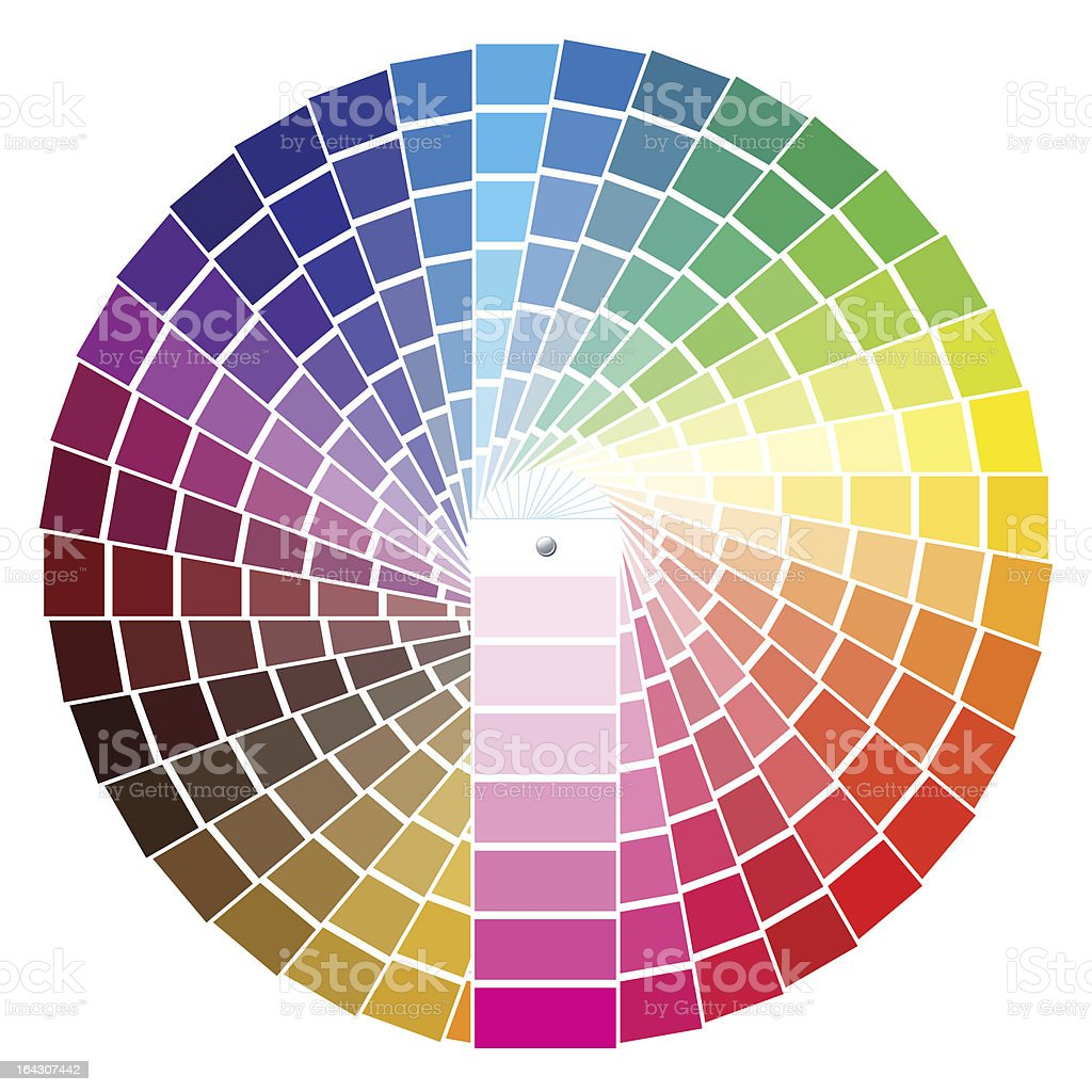 PANTONE royalty-free pantone stock vector art & more images of arts culture and entertainment