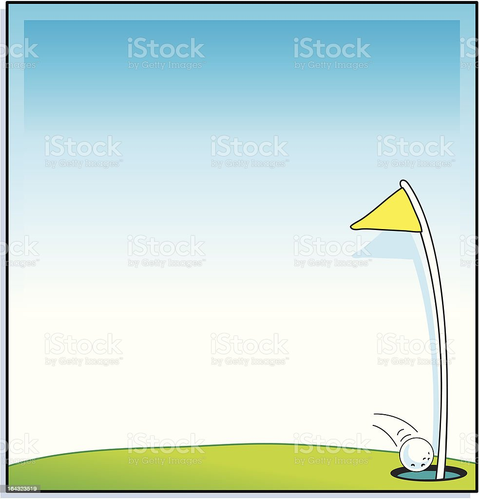 Golf Holeinone Frame Stock Vector Art & More Images of After Work ...