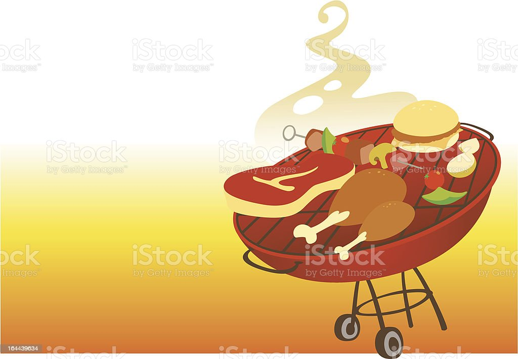 BBQ royalty-free bbq stock vector art & more images of barbecue