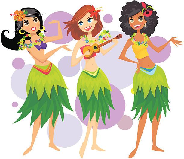 bildbanksillustrationer, clip art samt tecknat material och ikoner med hula girls - sparkle teen girl