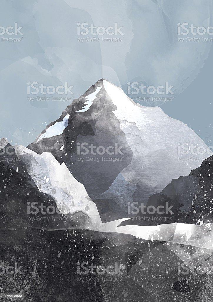 K2 vector art illustration
