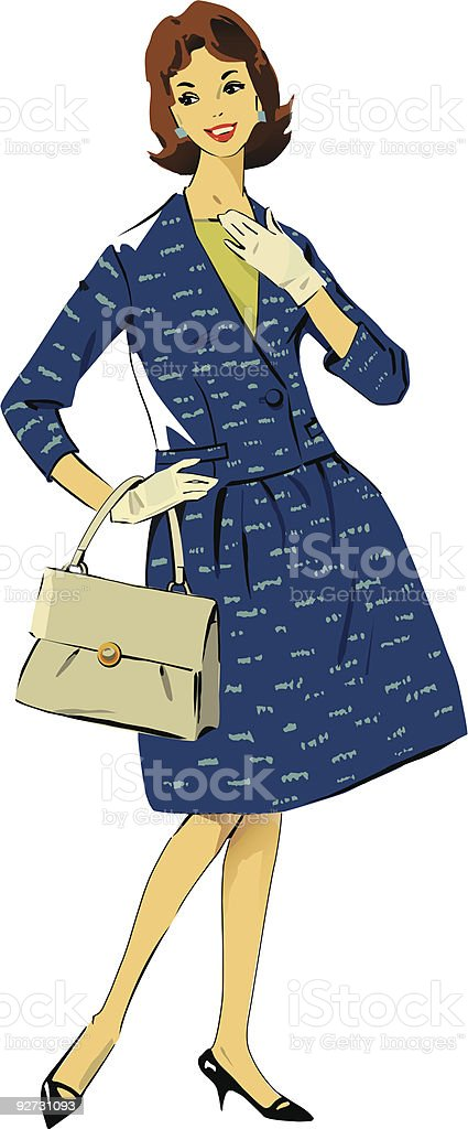 1960s Girl royalty-free 1960s girl stock vector art & more images of 1960-1969