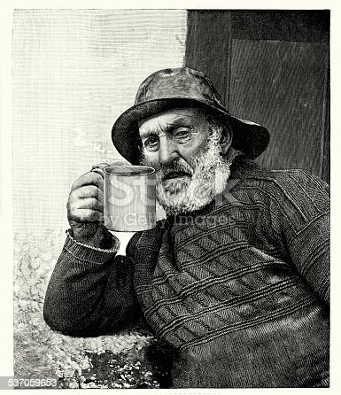 istock 19th Century Fisherman 537059653