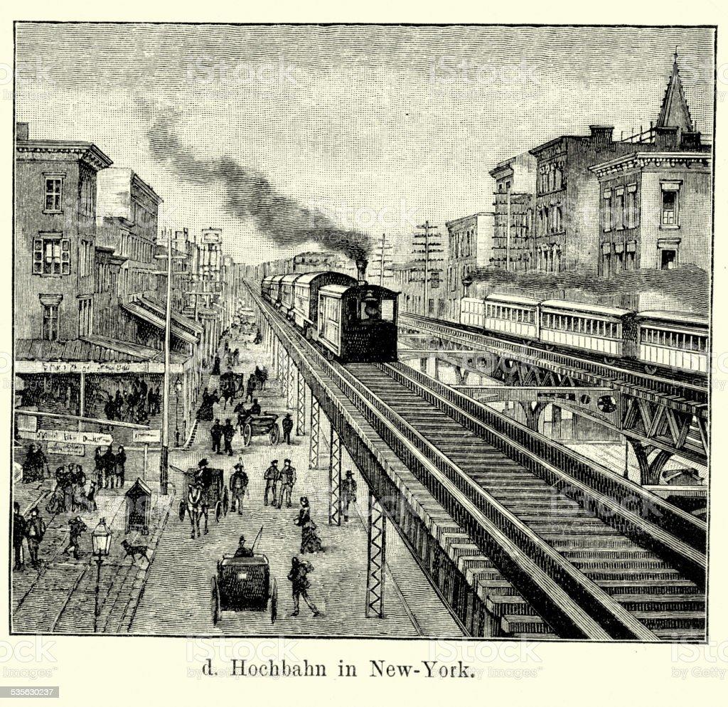19 世紀のアメリカ合衆国ニューヨークの貨物鉄道 ロイヤリティフリー19 世紀のアメリカ合衆国ニューヨークの貨物鉄道 - 列車のベクターアート素材や画像を多数ご用意