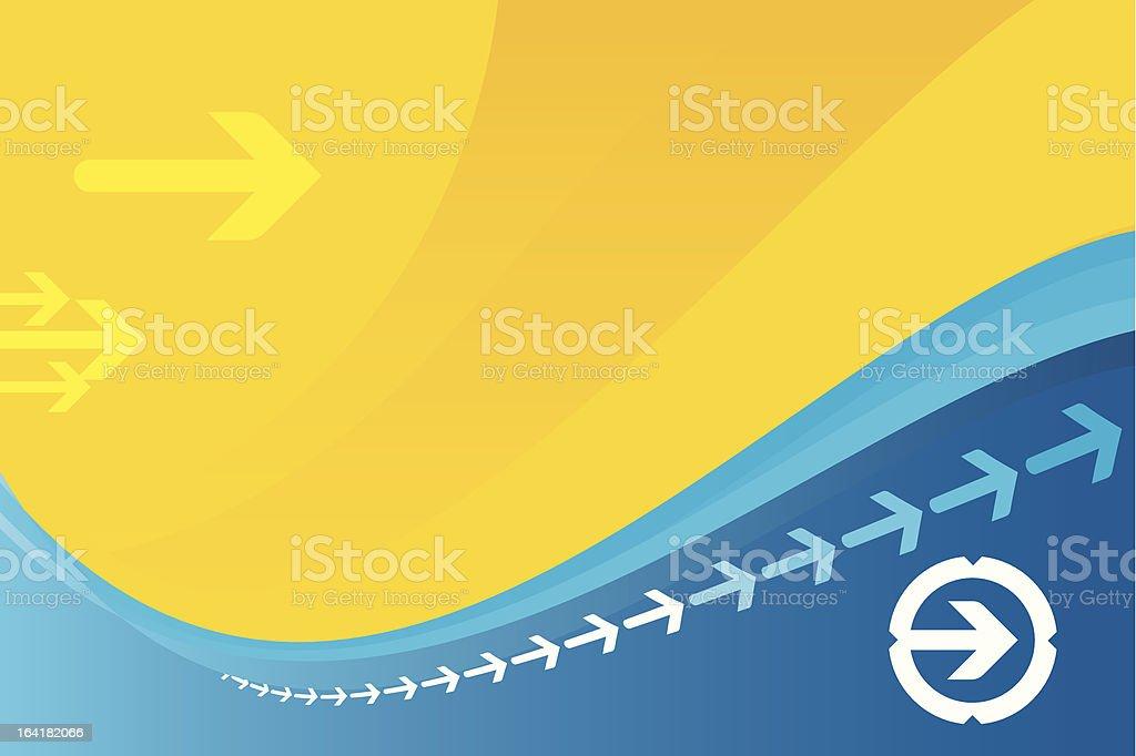 1-credit arrow background royalty-free stock vector art