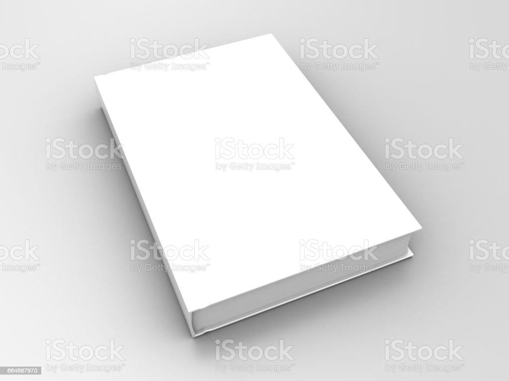 3d book vector art illustration