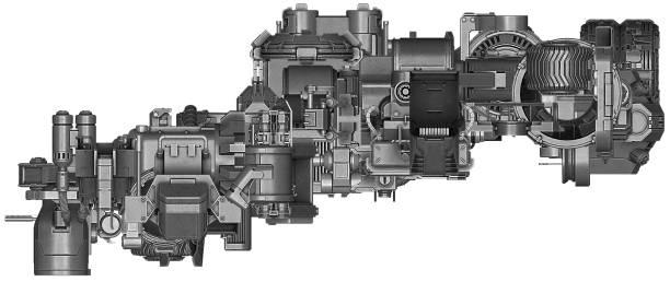 3d Illustration Of Abstract Industrial Equipment Technology Vector Art