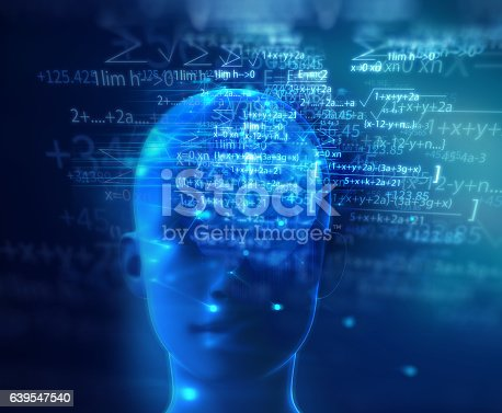 611992272 istock photo 3d rendering of human  brain on technology background 639547540