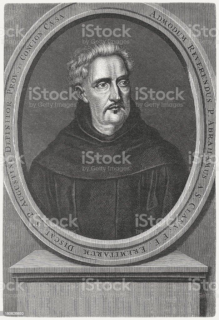 Abraham a Sancta Clara (1644-1709), Catholic priest, published in 1879 royalty-free abraham a sancta clara catholic priest published in 1879 stock vector art & more images of aster
