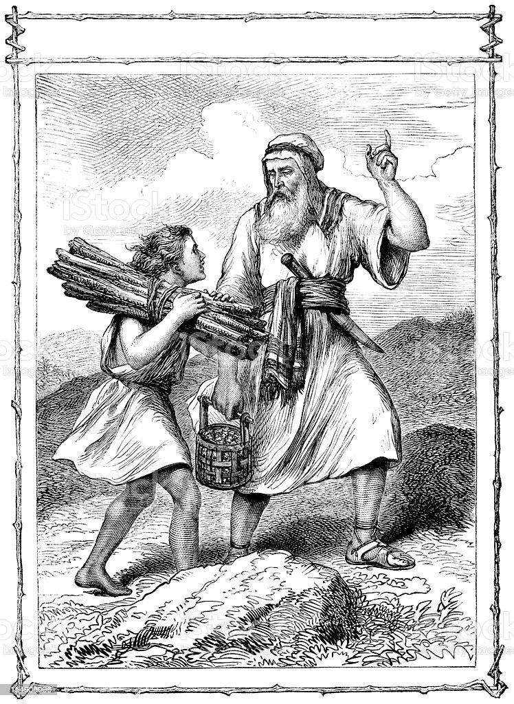 Ilustración de Abraham Y Isaac Victorian Ilustración y más banco de ...