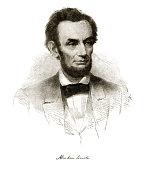 Abraham Lincoln Engraving
