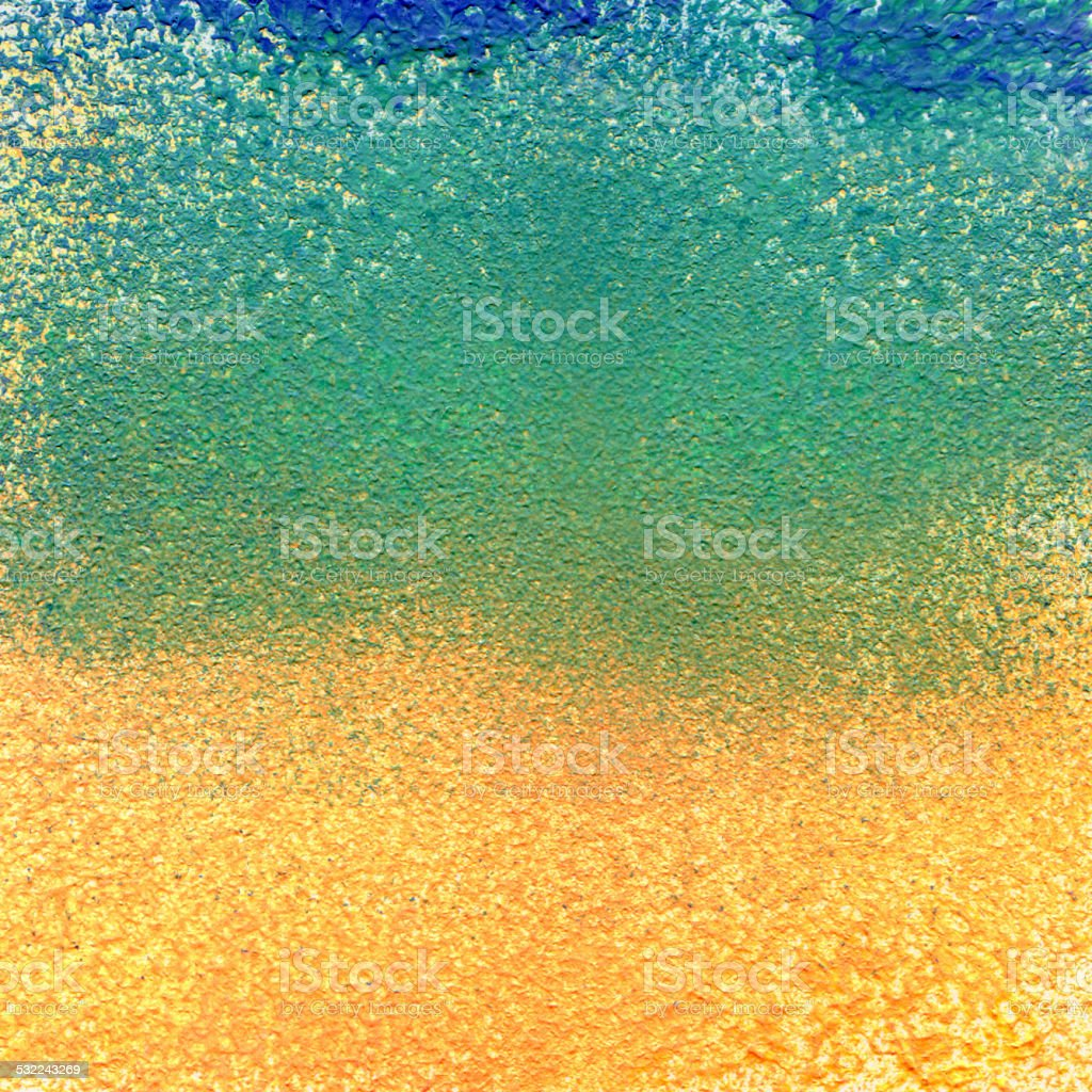 Abstract acrylic and watercolor painted background vector art illustration