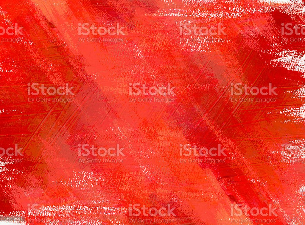 Abstract acrylic red background texture vector art illustration