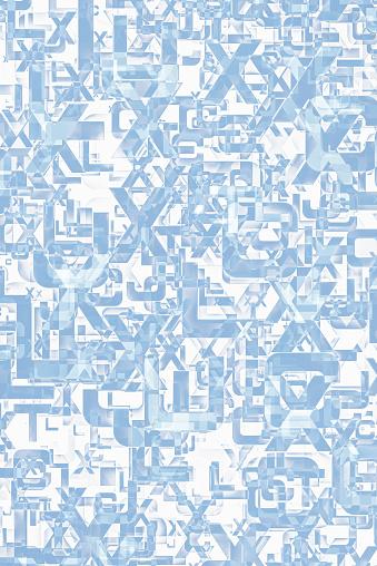 추상 알파벳 텍스트 배경 0명에 대한 스톡 벡터 아트 및 기타 이미지