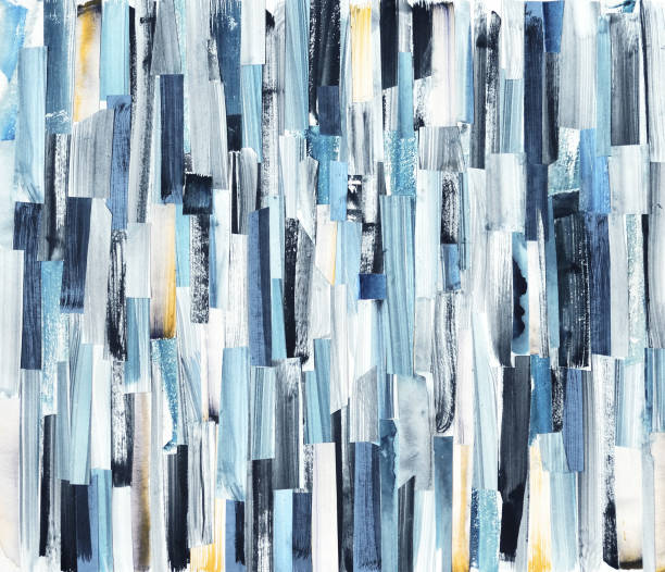 abstract art background - acrylic painting stock illustrations